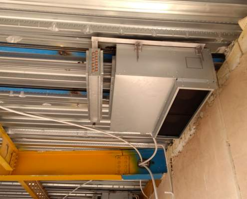 نصب داکت اسپلیت | هزینه تعمیر کولر گازی در اصفهان