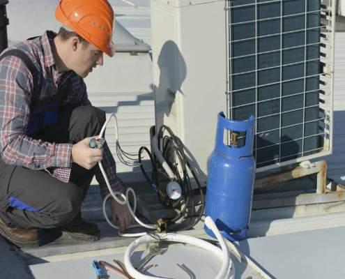 شارژ گاز اسپلیت | تعمیر کولر گازی در اصفهان