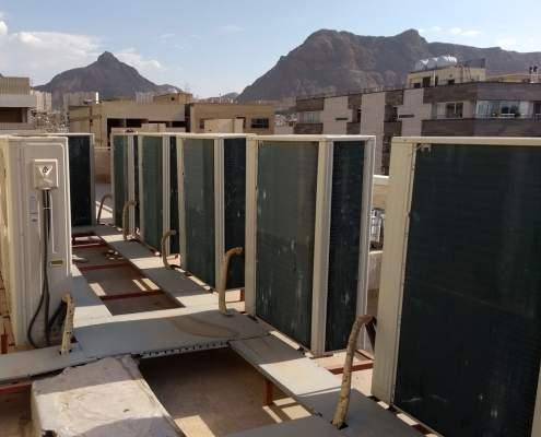 تعمیر داکت اسپلیت VRF | هزینه تعمیر کولر گازی در اصفهان